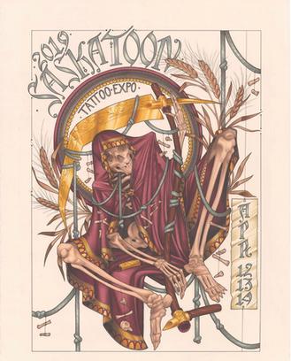 Saskatoon Tattoo Expo April 12th-14th