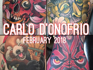 New Artist Announcement! Carlo D'Onofrio