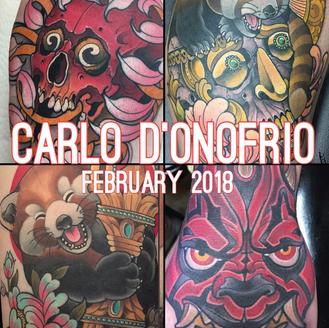 New Artist Announcement! Carlo D'Onofrio