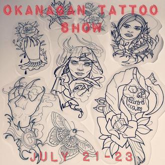 Paul and Alison at The Okanagan Tattoo Show