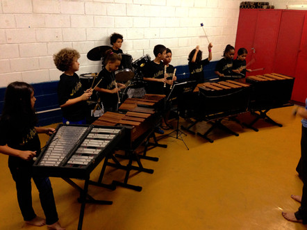 2014 - Aula de Flauta e Xilofone