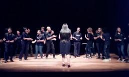 2018 - Coral Atitude Jovem no Teatro da Cultura Inglesa em São Paulo