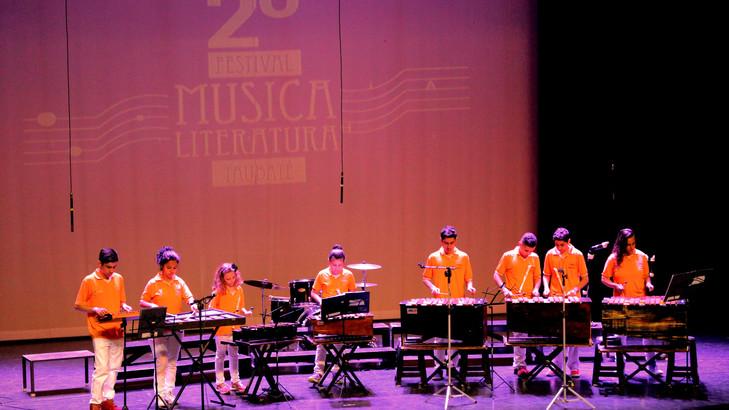 2016 - no Festival Nacional de Música & Literatura em Taubaté