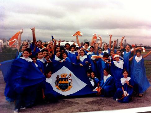 2001 - no aniversário da GOL linhas Aereas no Aeroporto