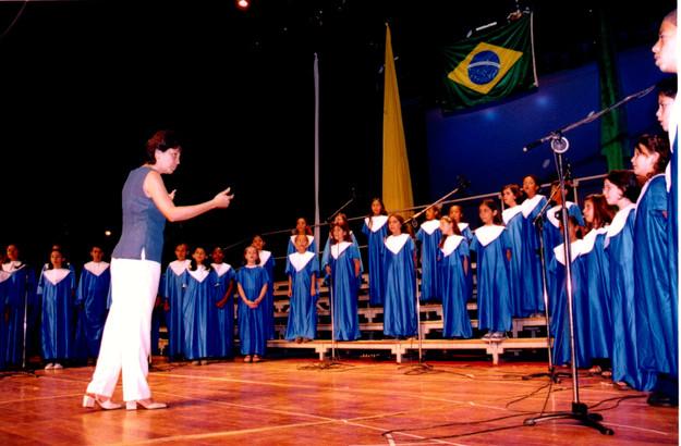 2001 - no Colegio Salesiano em SP