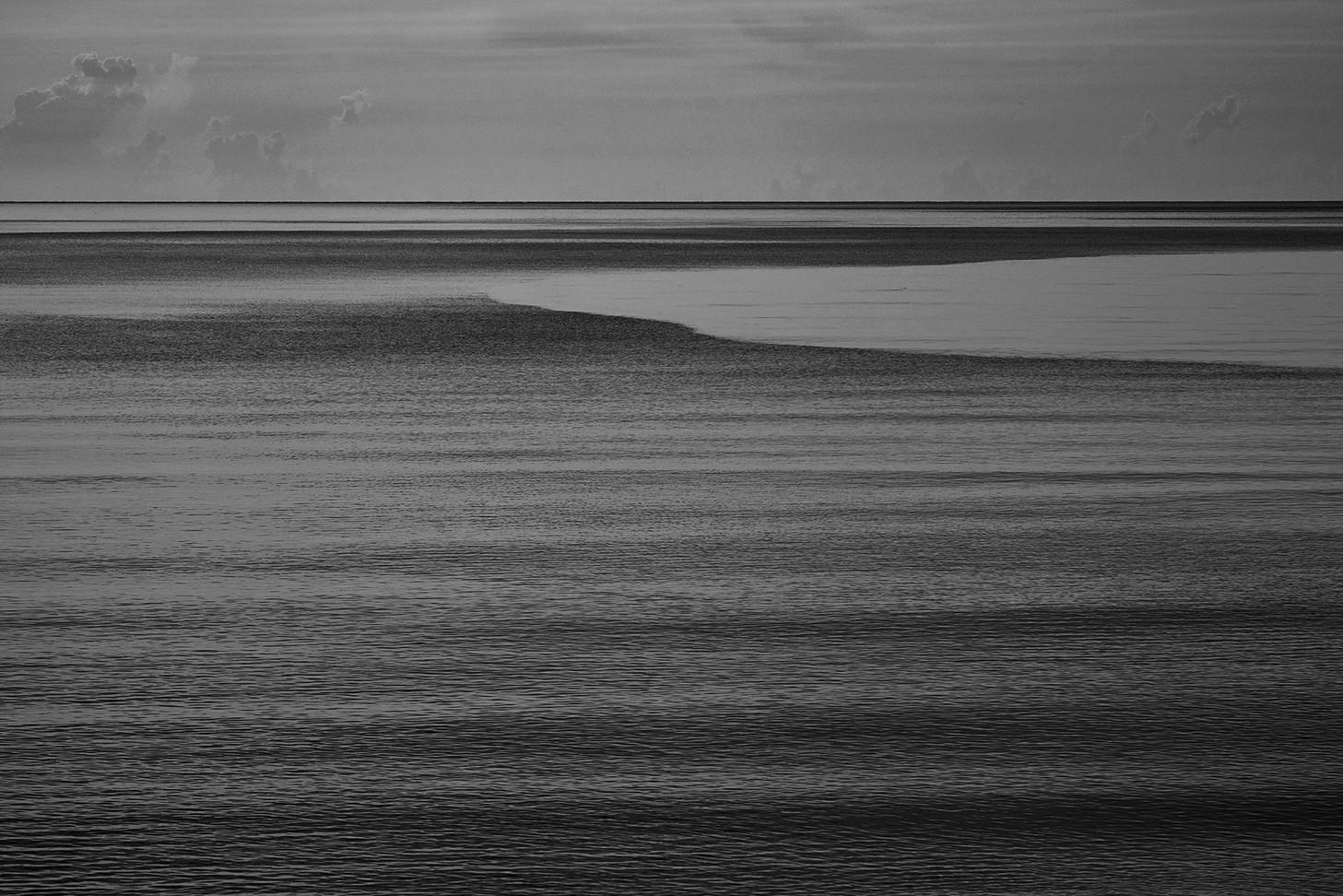 The calm sea, Hua Hin, Prachuap Khiri Khan, Thailand