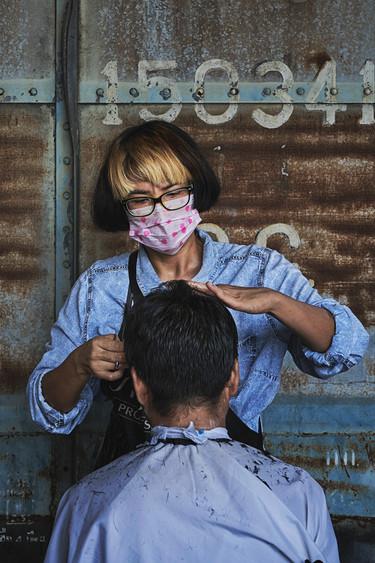 Public haircut service