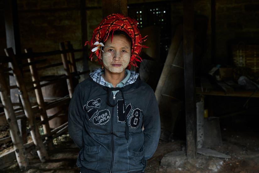 Burmese farmer
