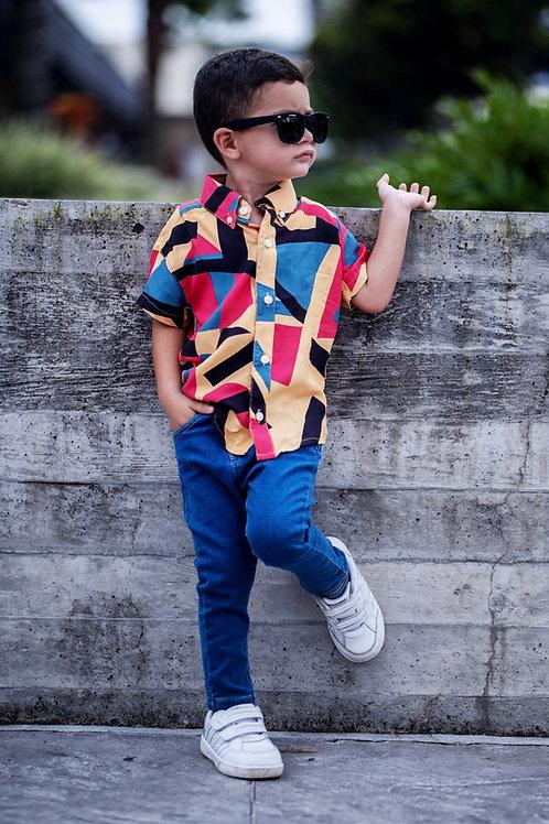Camisa Bebe Modelo Cali Lines