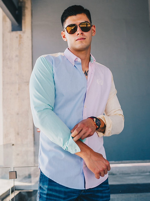 Camisa Caballero Cartagena Lines