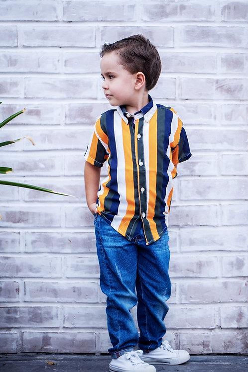 Camisa Bebe Modelo Antoquia Lines