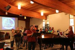 CVUMC Band and Choir