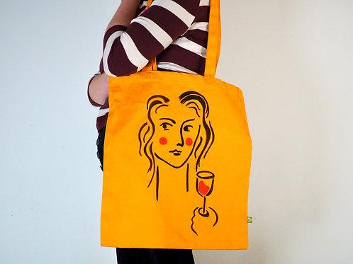 Organic Mustard Tote Bag