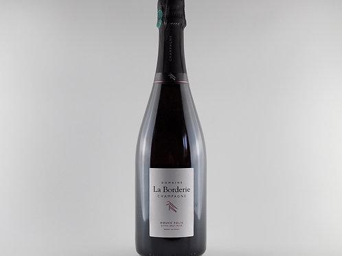 Domaine La Borderie Cuvée Douce Folie Rosé NV   Champagne, France
