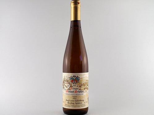 Michael Schäfer Burg-Layer Johannisberg Scheurebe Auslese 1990 | Nahe, Germany