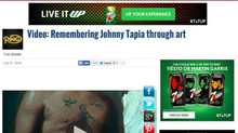 """""""Johnny"""" timelapse movie featured on The Ring Magazine"""