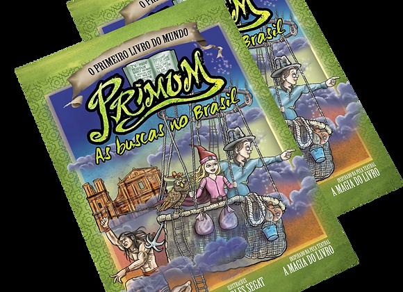 2 exemplares de Primum - As buscas no Brasil (vol.1) - ADOTE UM LEITOR