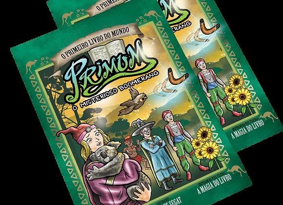 2 exemplares de Primum - O Misterioso Boomerang (Vol. 5) - ADOTE UM LEITOR