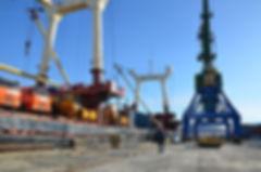 Фото анализ портовой инфраструктуры