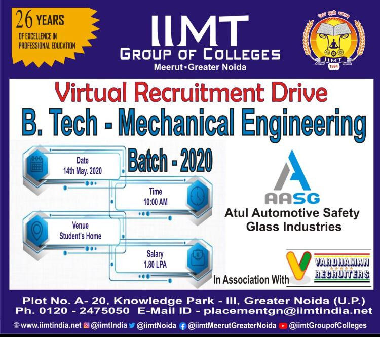 IIMT college virtual drive by beginners inverter