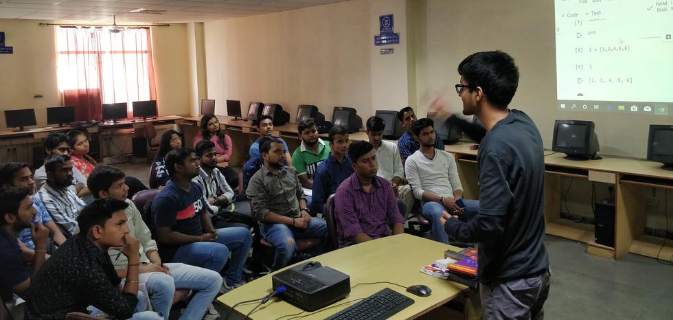 Kunal from coding blocks @ beginners inverter