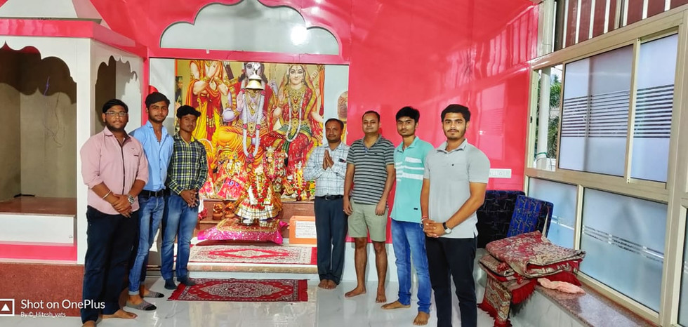 Beginners Inverter temple innaugration
