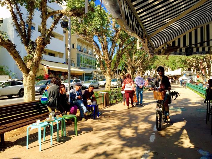 Rothschild Blvd., Tel Aviv, April 2016