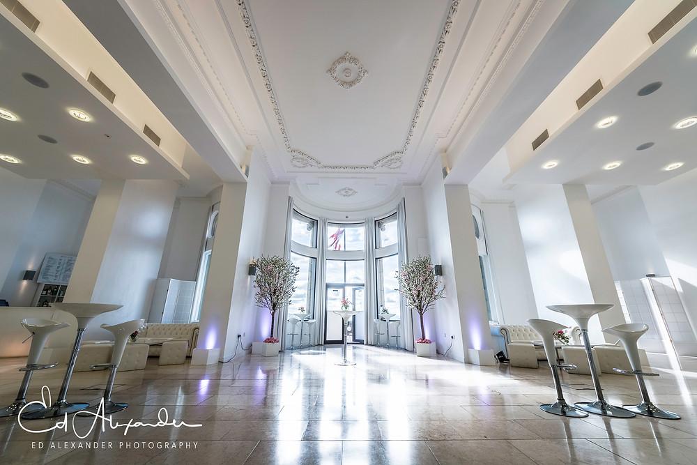 wedding venue royal liver building liverpool interior