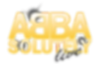 Abbasolutely live abba tribute band logo
