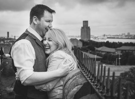 Nicola & Jonathan's Engagement - The Priory, Birkenhead, Wirral