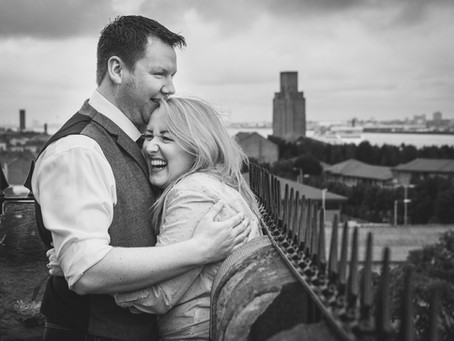 Nicola & Jonathan's Engagement - The Priory, Birkenhead, Wirral