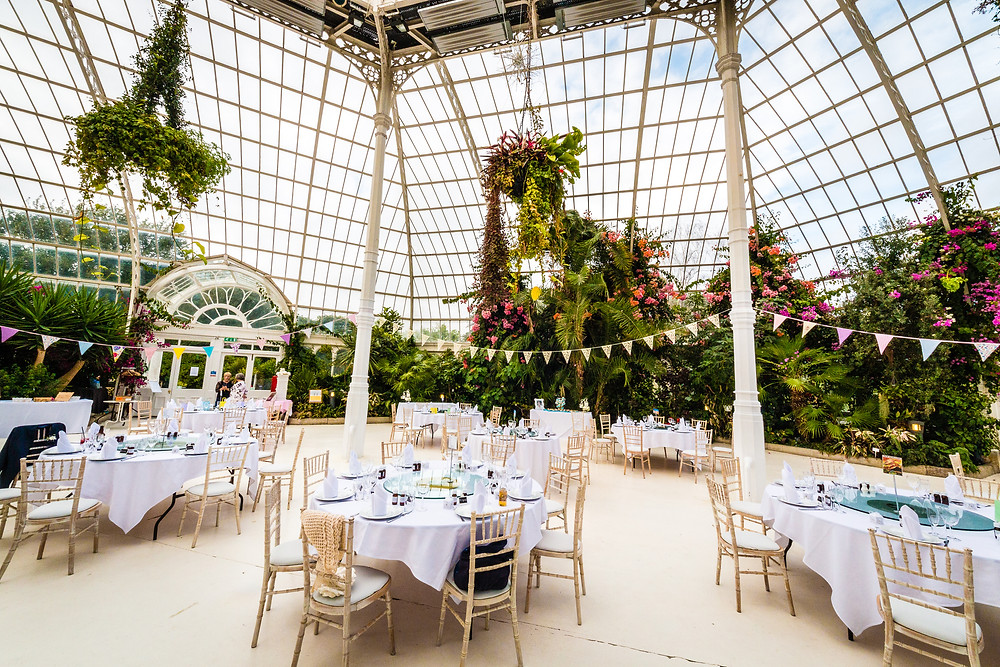 wedding venue palm house liverpool interior