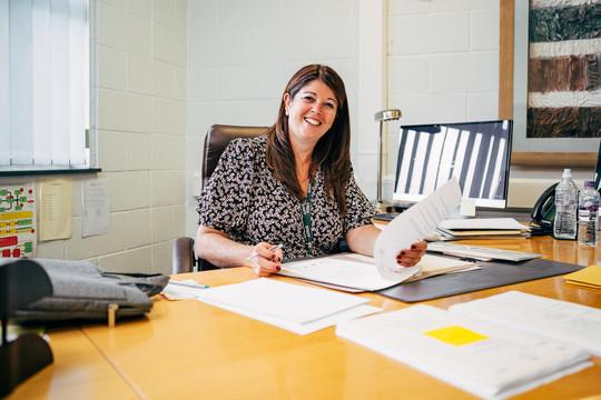 school headteacher work environment port