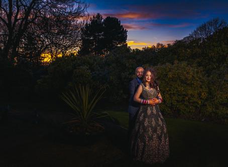 Shalli & Nick's Indian Hindu Wedding - Palm House, Liverpool