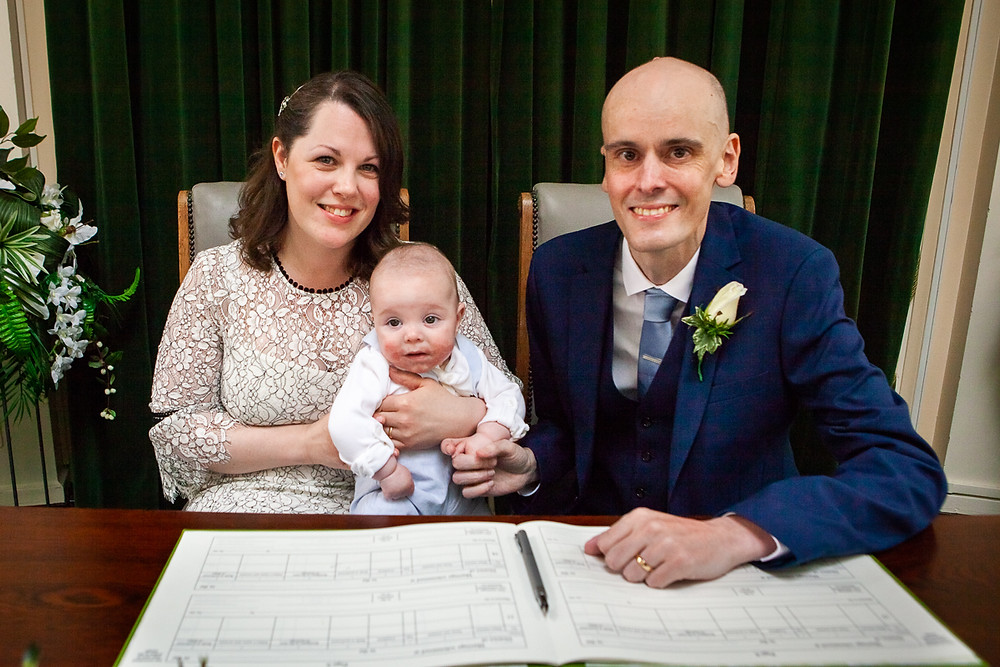 wedding ceremony at wallasey town hall wirral photographer