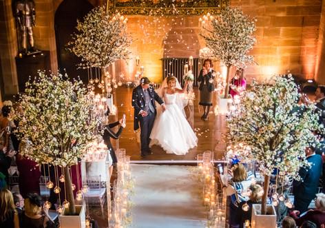 1peckforton castle wedding photographer.