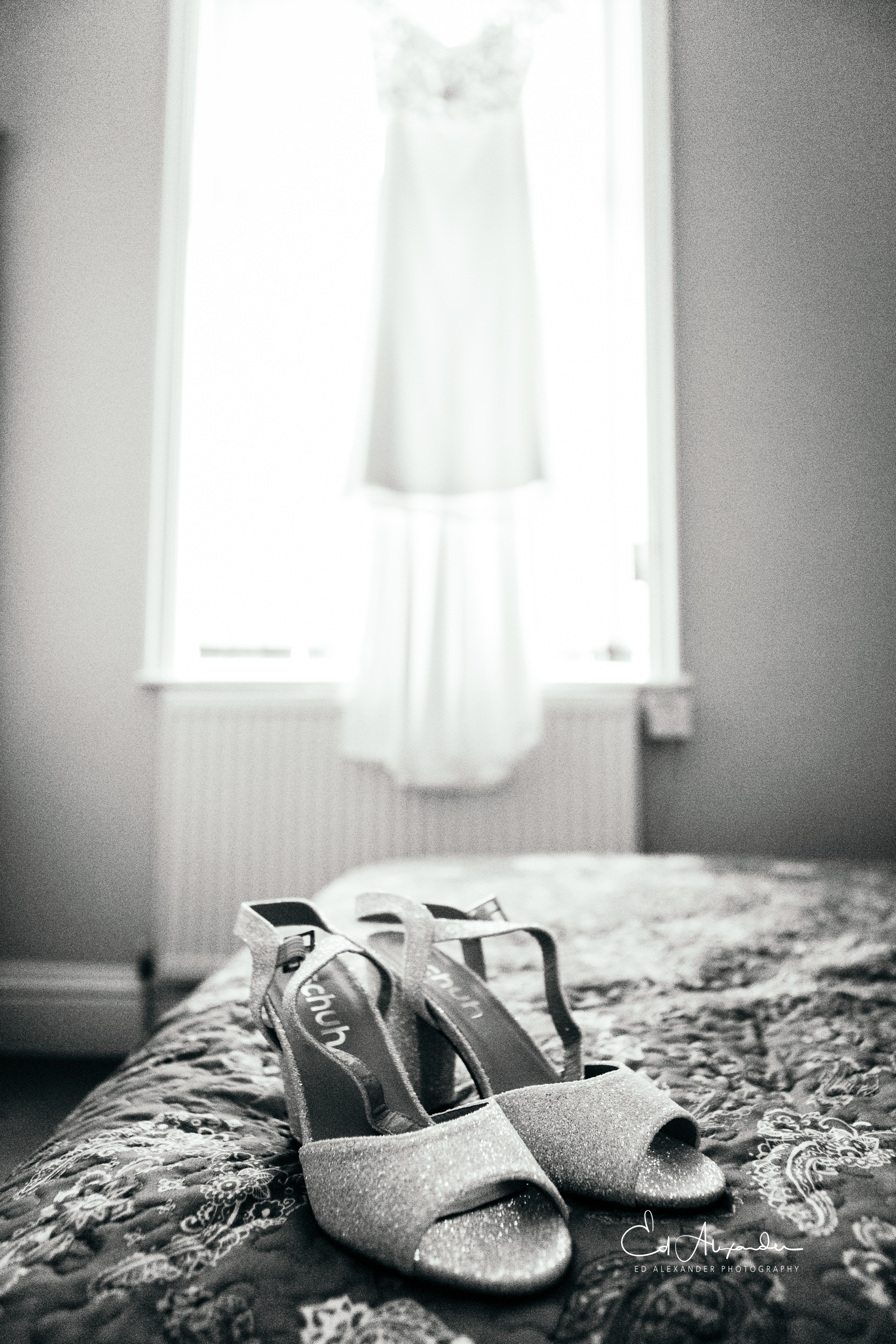 liverpool wedding photography shoes dress