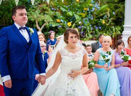 Andrew & Laura's Wedding - Sefton Park Palm House, Liverpool