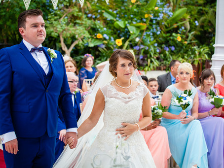 Andrew & Laura's Wedding - Sefton Park Palm House, Liverpool