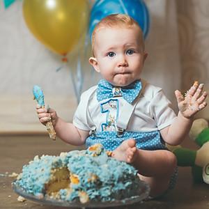 Oscar Cake Smash