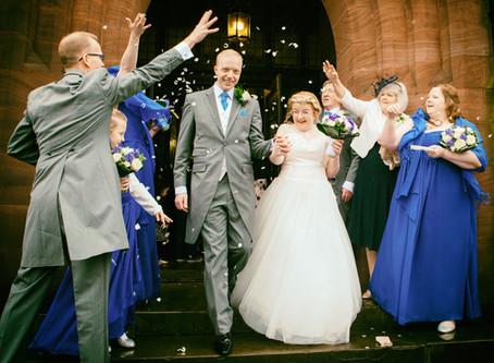 Rachel & Mike's Wedding - Liverpool Cricket Club, Aigburth, Liverpool