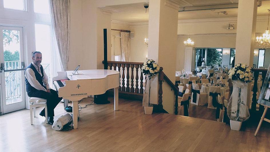 wedding venue pianist west tower aughton