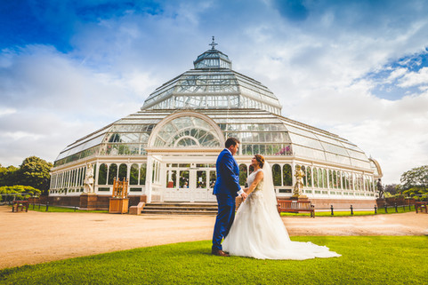 13andrew laura wedding palm house liverp