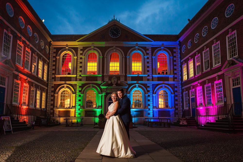 wedding at bluecoat chambers liverpool