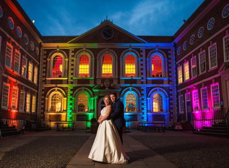 Nicola & Jonathan's Wedding at Bluecoat Chambers, Liverpool