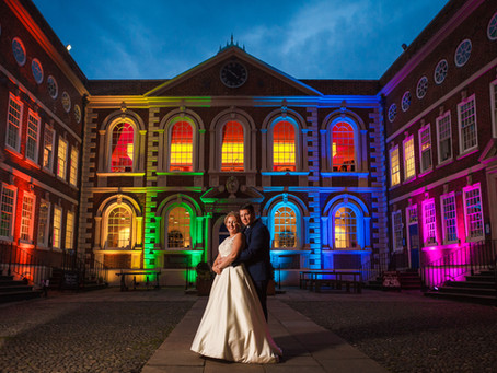 Nicola & Jonathan's Wedding at Bluecoat Chambers, Liverpool