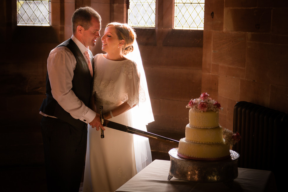 2peckforton castle wedding photographer.
