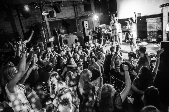 Abbasolutely abba tribute band camp and furnace crowd liverpool