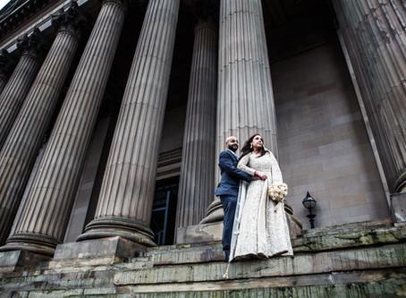 Shalli & Nick's Wedding at St. George's Hall, Liverpool