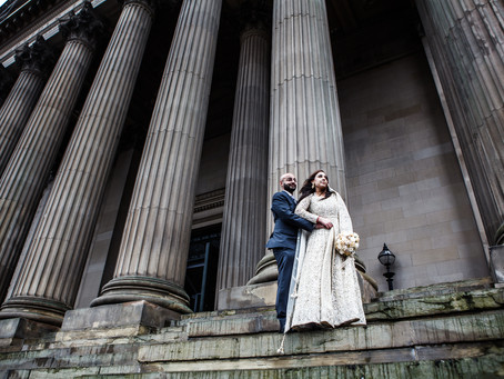 Shalli & Nick's Wedding at St. George's Hall, Liverpool